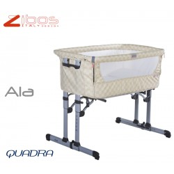 Cradle ALA Quadra Cream Zibos. Alongside the bed and swings, complete with mosquito net and anti regurgitation pillow