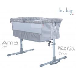 Culla AMA - PEONIA GRAY