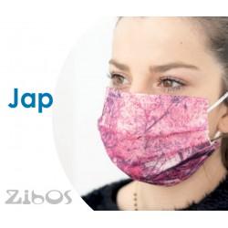 Mascherina 10pz ESTIVA LEGGERA COLORATA - Confezione da  10pz.-JAP