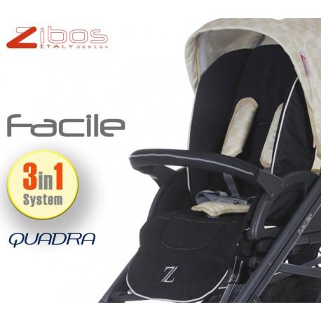 Trio Facile 3in1 Quadra Cream