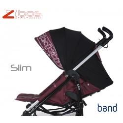 SLIM baby stroller Bandana Red
