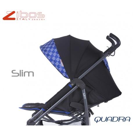 Passegggino SLIM Quadra Blu