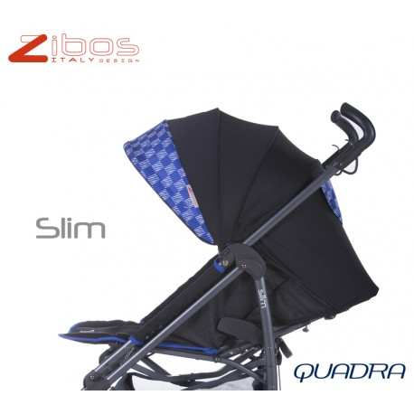 SLIM baby stroller Quadra Blu